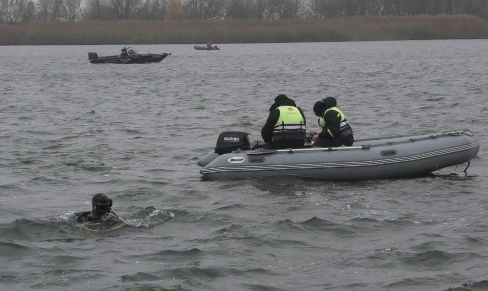 К поискам пропавшего 22-летнего херсонца присоединилась водолазная группа аварийно-спасательного отряда области