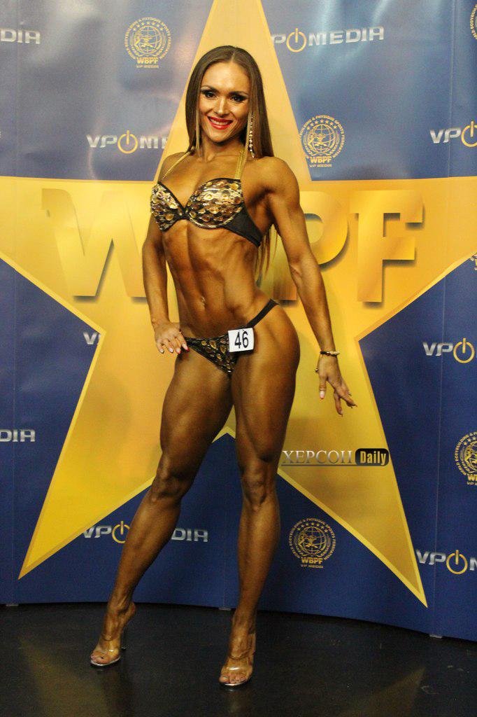 Анна Синельникова чемпионка мира по бодибилдингу, новости херсона 2015