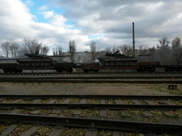 Куда вывозили танки?