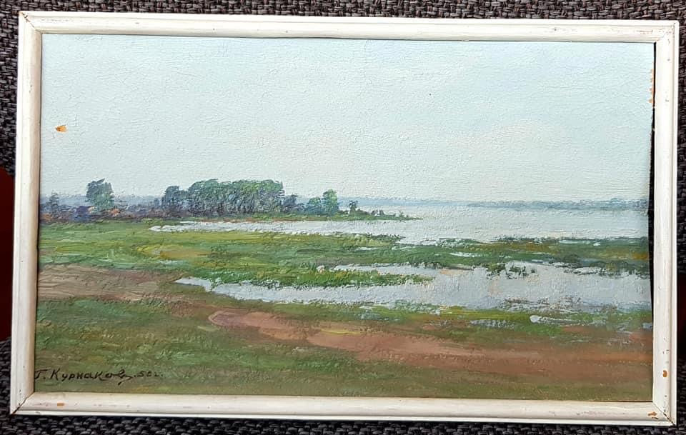 Сегодня родился известный херсонский художник Георгий Васильевич Курнаков