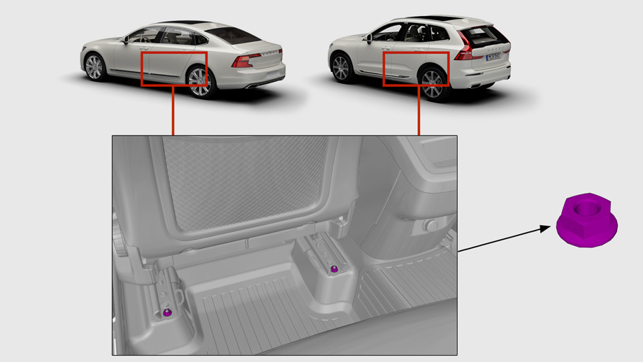 Новые автомобили Volvo XC60 и S90 отзываются из-за забытых гаек.