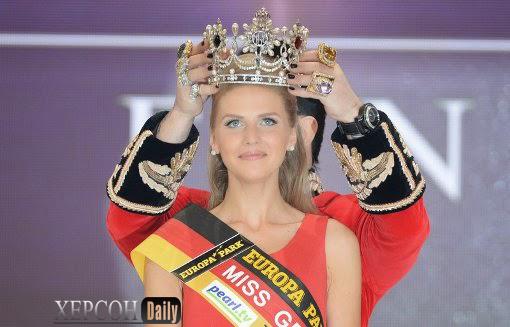 Новости Херсона. Украинка получила титул Мисс Германия. херсон дейли