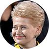 Даля Грибаускайте, президент Литвы, ЕС, Украина