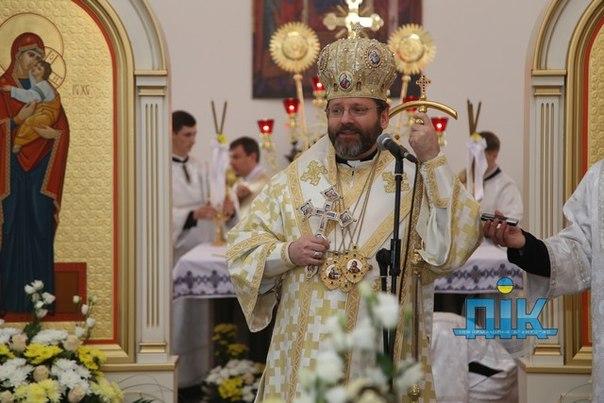 Новости Херсона. В Херсон приехал предстоятель Украинской греко-католической церкви Блаженнейший Святослав. Херсон дейли