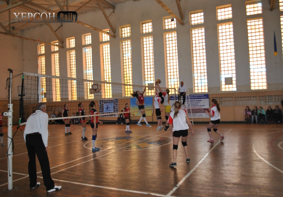 Новости Херсона. Волейбол женские команды Херсонской области