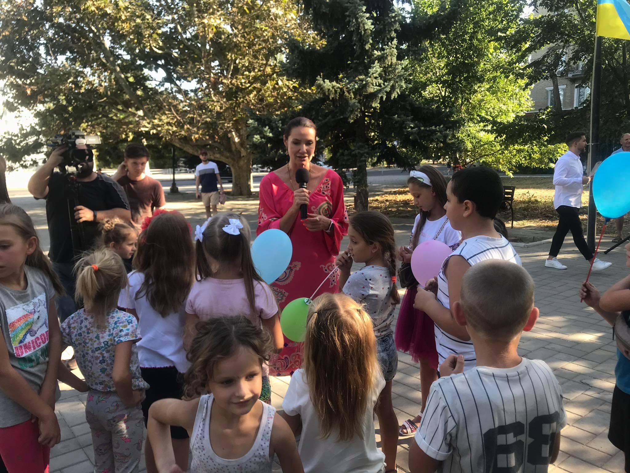 1-го сентября херсонские школьники отметили с размахом