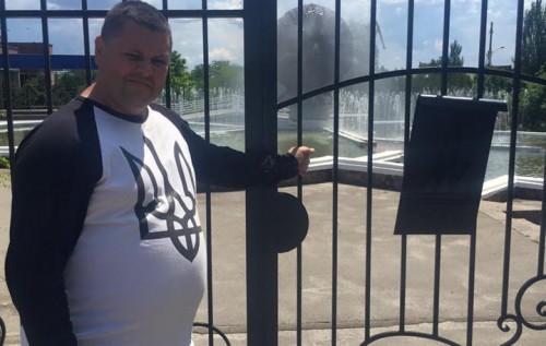 новости Херсон. Территория фонтана возле Фрегата закрыта