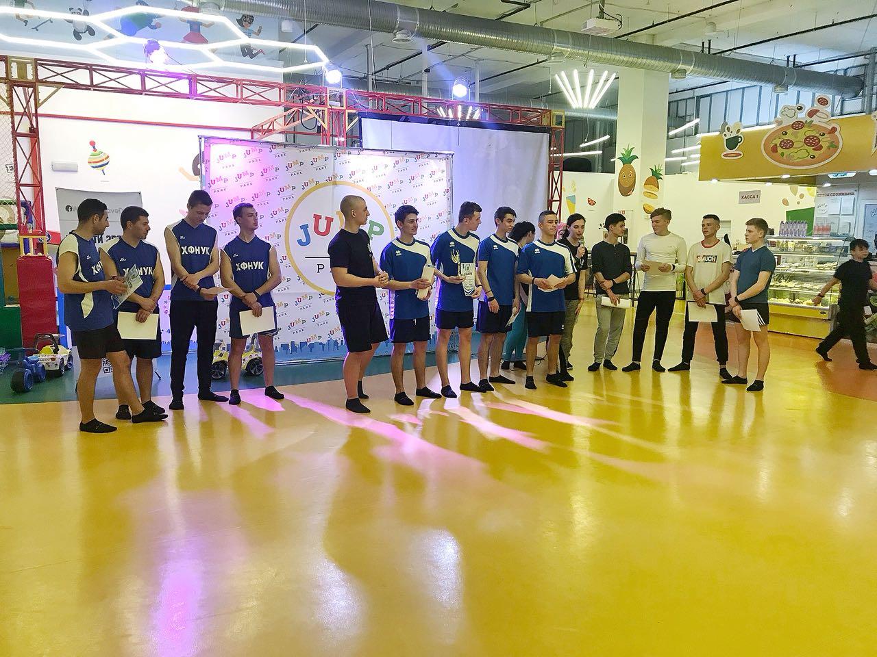 Студенты Херсона играли в Dodgeball в комплексе JUMP PARK