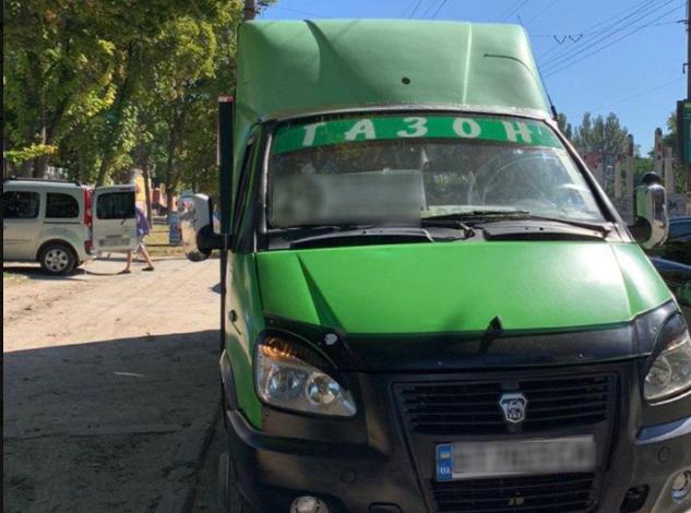 В Херсоне водитель маршрутки получил протокол за нарушение карантина