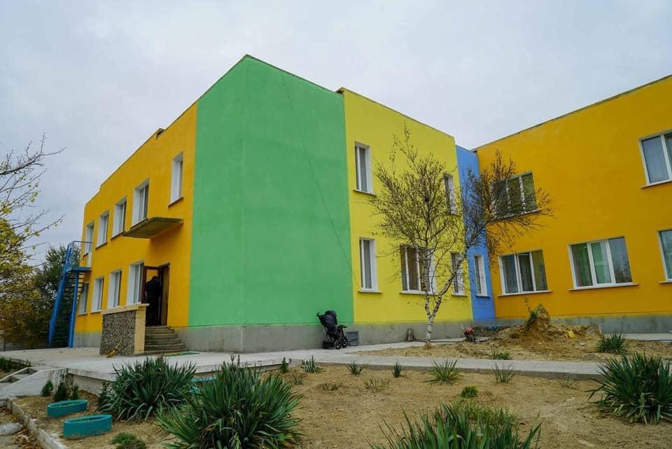 На Херсонщине завершается капитальный ремонт детского сада: завершение работ планируется 5 декабря