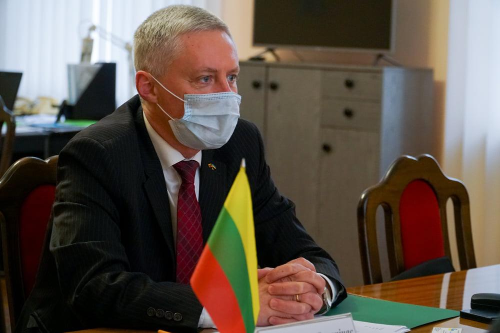 Херсонщину посетил посол Литвы Вальдемарас Сарапинас