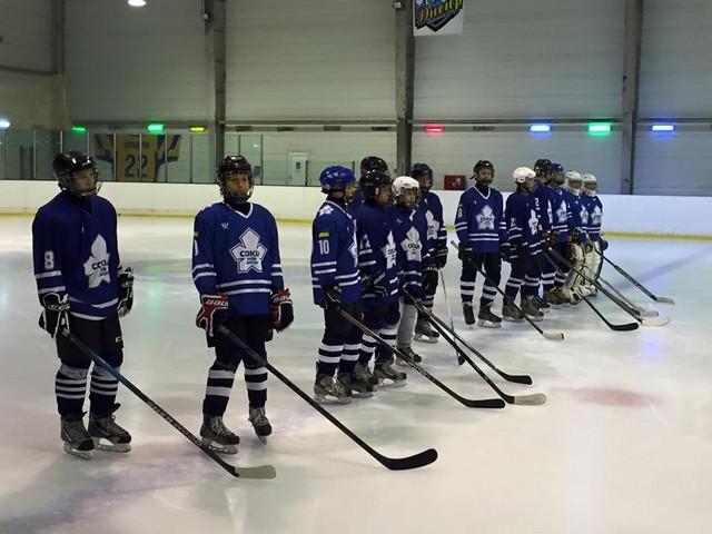 Юношеский Чемпионат Украины по хоккею стартовал