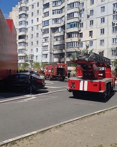 В Херсоне на Острове сгорела квартира: о пострадавших не сообщают