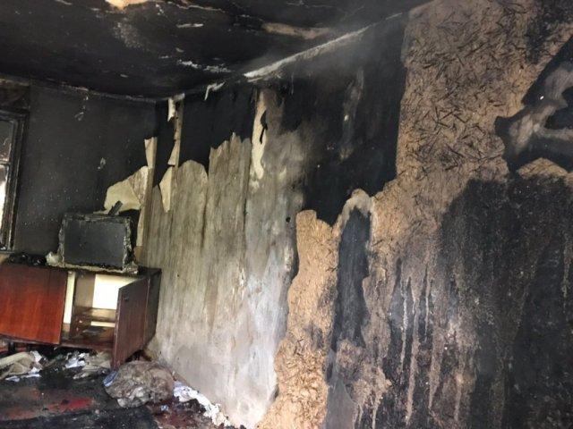 В Каланчакском районе тушили частный дом