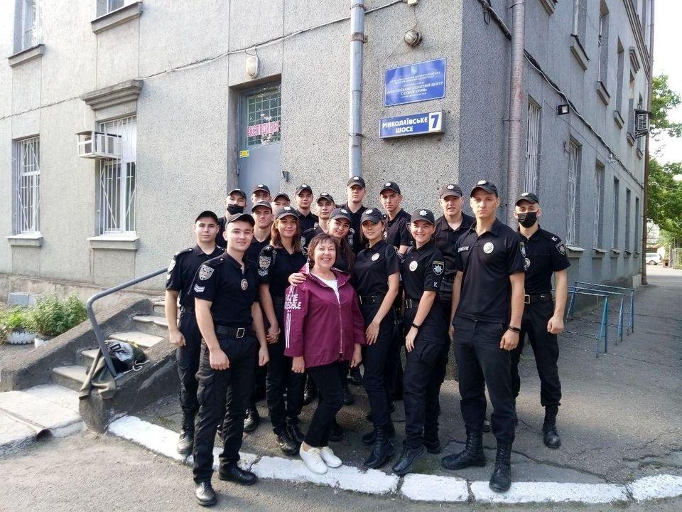 Курсанты Херсонского факультета ОГУВД пополнили банк крови