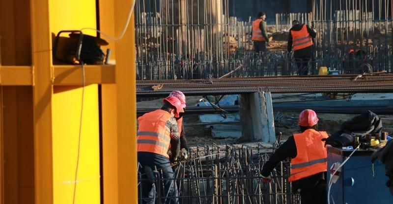 В Херсоне активно продолжается строительство первой очереди мостоперехода ХБК-Таврический