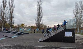 В Херсонской области появился скейт-парк
