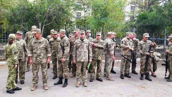 В Новой Каховке начались тактические учения городского батальона территориальной обороны
