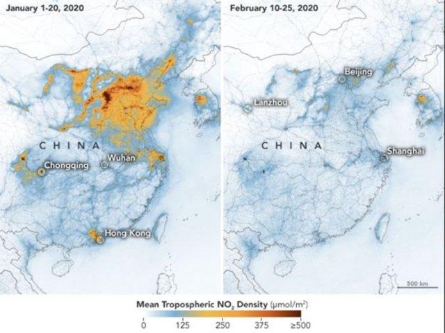 Коронавирус дал природе шанс на глоток чистого воздуха