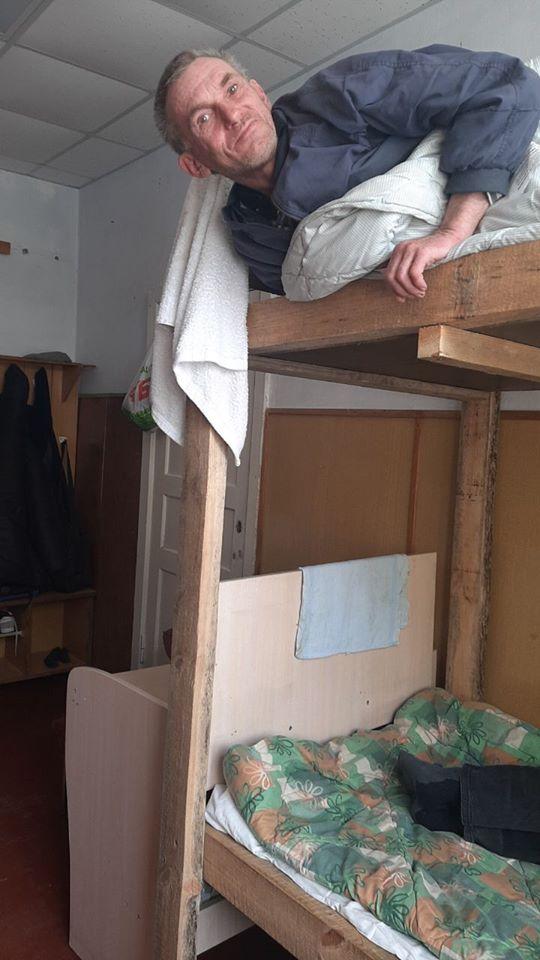 Херсонский центр для бездомных помог уже нескольким десяткам людей