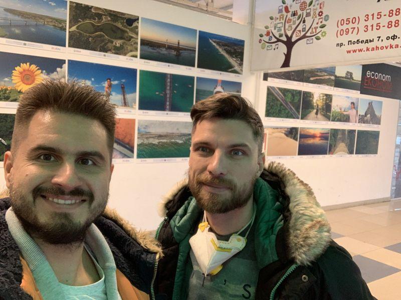 В Новой Каховке открылась фотовыставка туристических изюминок Херсонщины