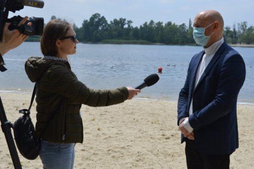 У Херсоні спеціальна комісія перевірила пляж у Гідропарку