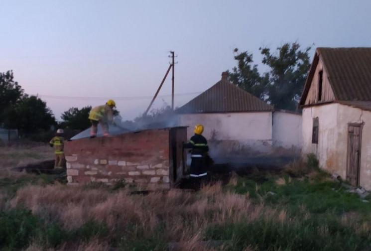 В Херсонской области на пепелище нашли труп мужчины