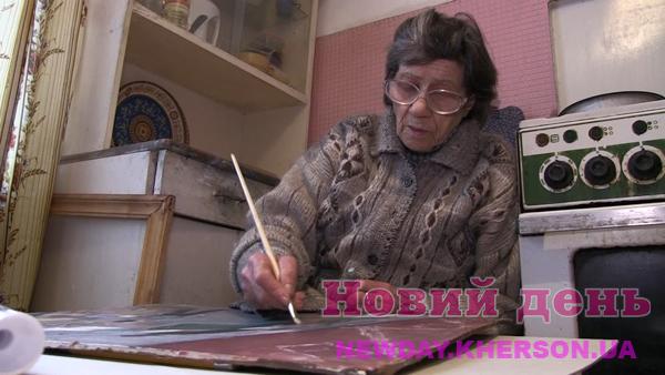 91-летняя художница из Херсона стала почетной гражданкой города