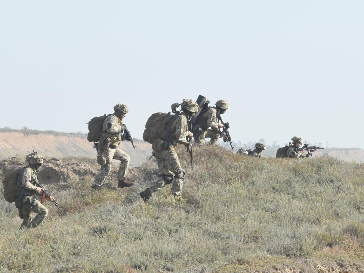В Херсонской области десантники наготове к наведению авиации
