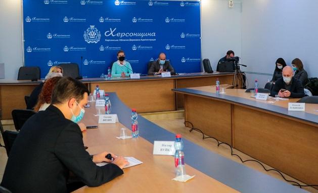 На Херсонщине обсудили вопросы обеспечения водой Автономной Республики Крым