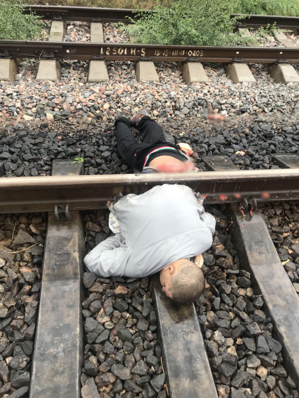 Картинка человек попал под поезд