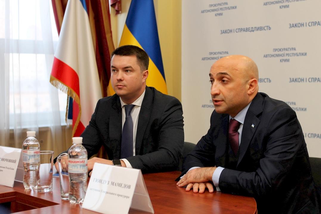 В Херсоне Гюндуз Мамедов представил нового прокурора АР Крым