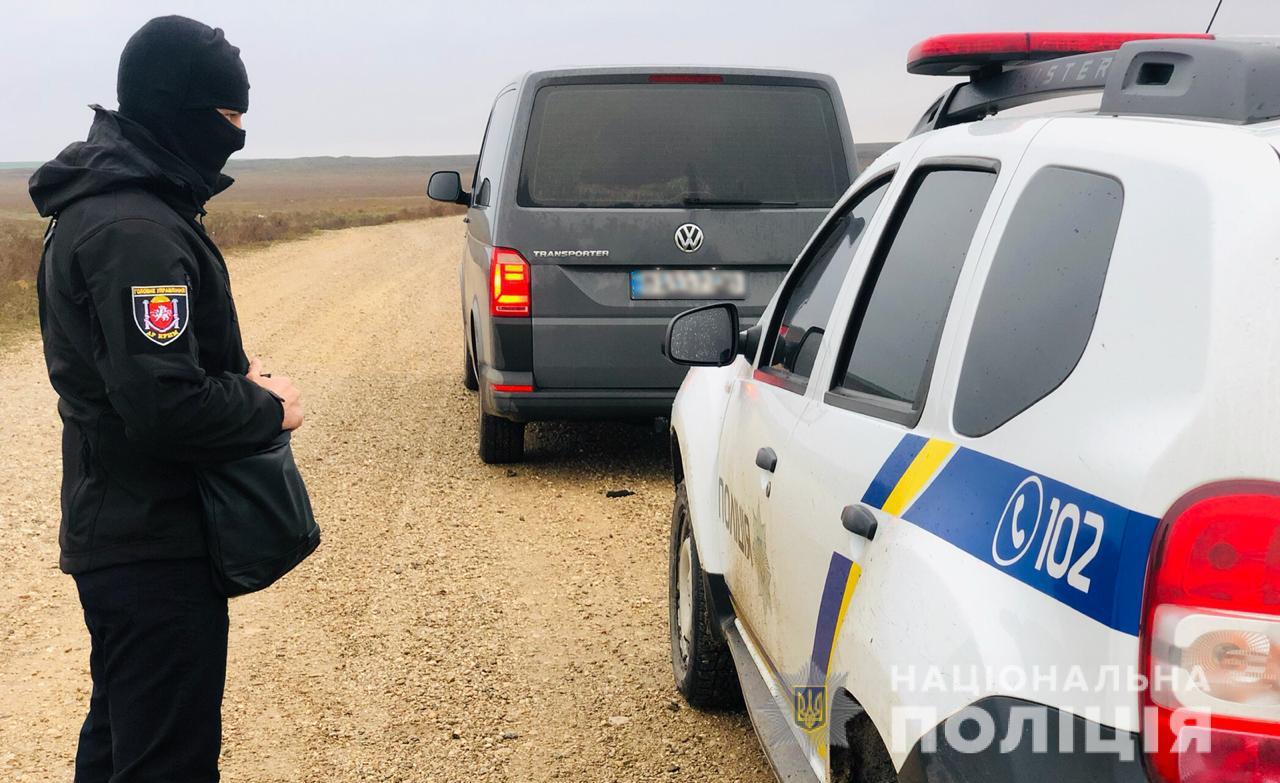 На Херсонщине задержали вымогателей из этнической преступной группировки