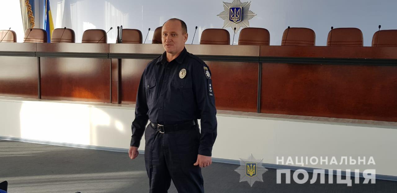 В Херсоне в полиции инновационно встречали желающих стать участковыми
