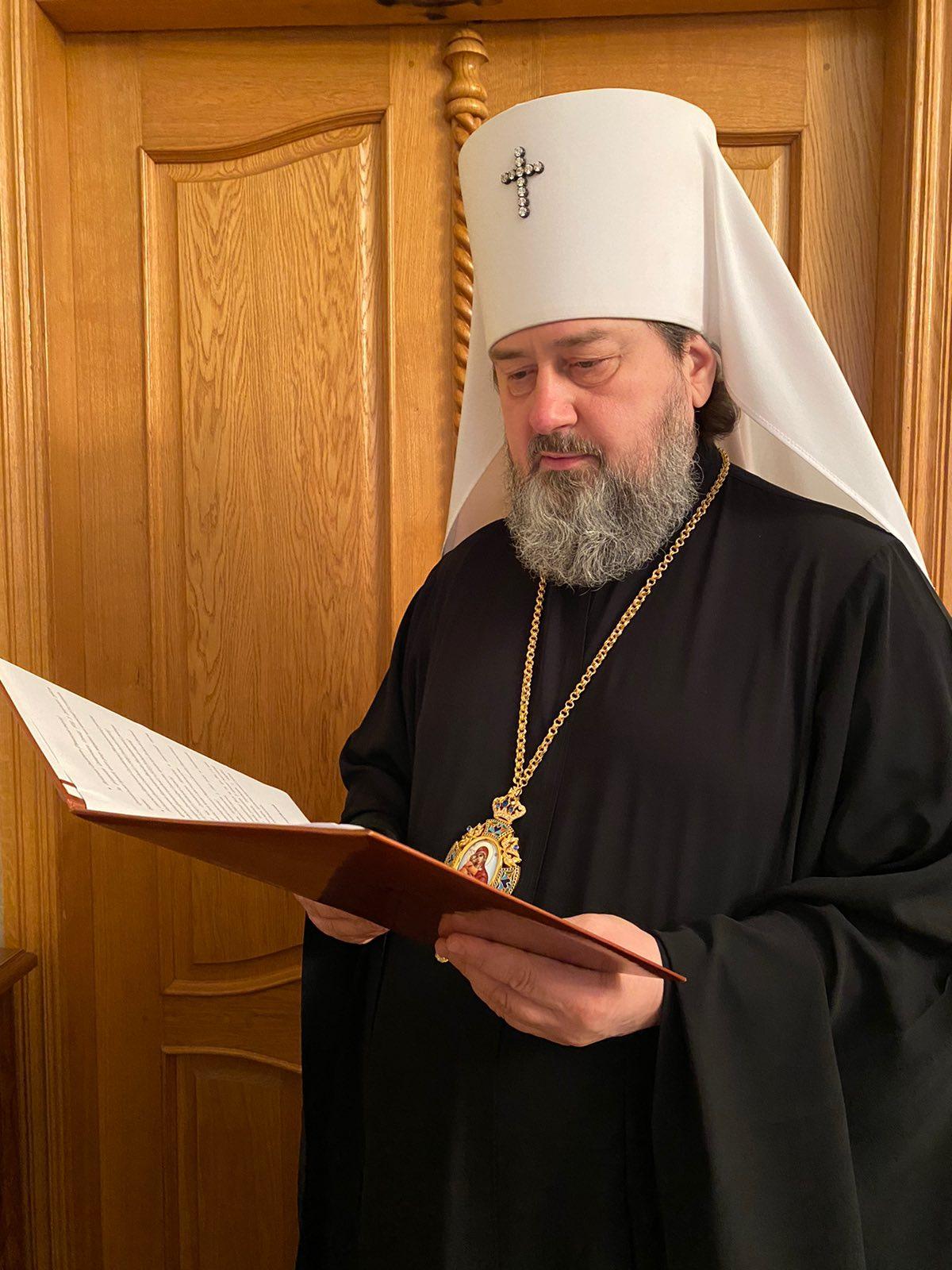 Митрополит Херсонский и Таврический Иоанн о работе комиссии по канонизации