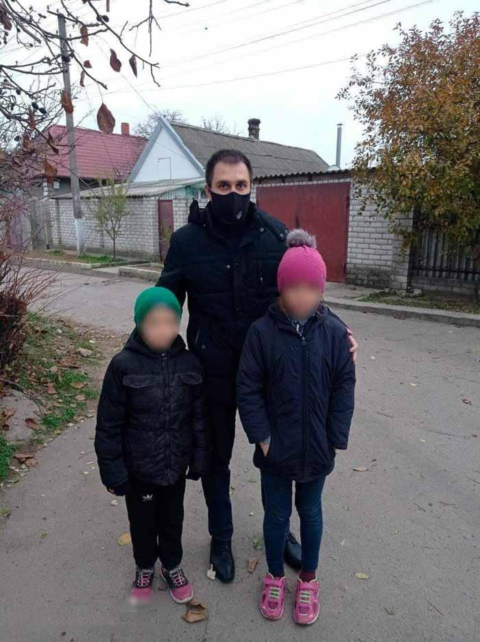 В Херсоне полиция всю ночь искала двоих несовершеннолетних детей