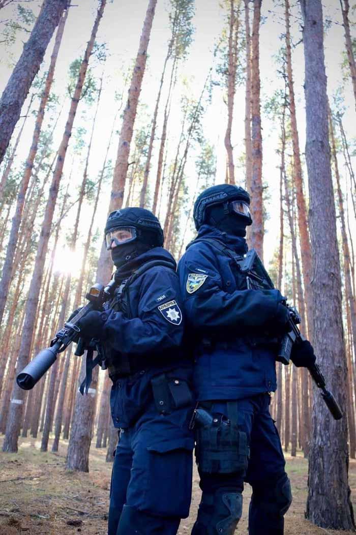 В Олешковском лесу тренировался спецназ