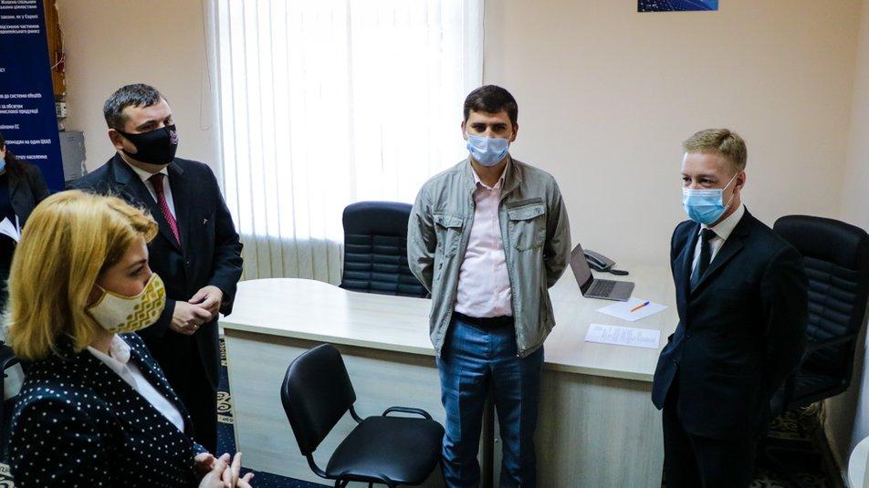 Первый в Украине региональный офис евроинтеграции открыли на Херсонщине