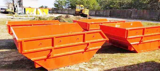 В Новой Каховке установят еще десяток огромных мусорных баков