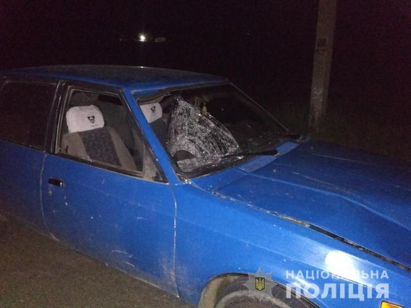 В Херсонской области пьяный водитель, у которого никогда не было прав, насмерть сбил мужчину