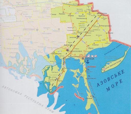 Три села на Херсонщине планируют стереть с карты