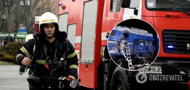 Под Николаевом горел поезд Интерсити сообщением Киев – Херсон