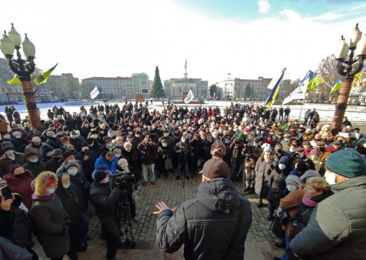 """Херсонщину накрыла волна """"тарифных"""" протестов"""