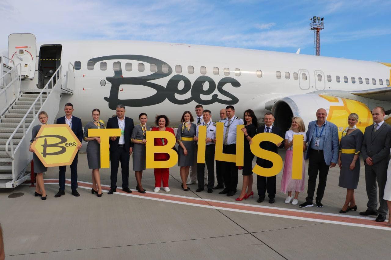 Сегодня стартовало авиасообщение между Херсоном и Тбилиси