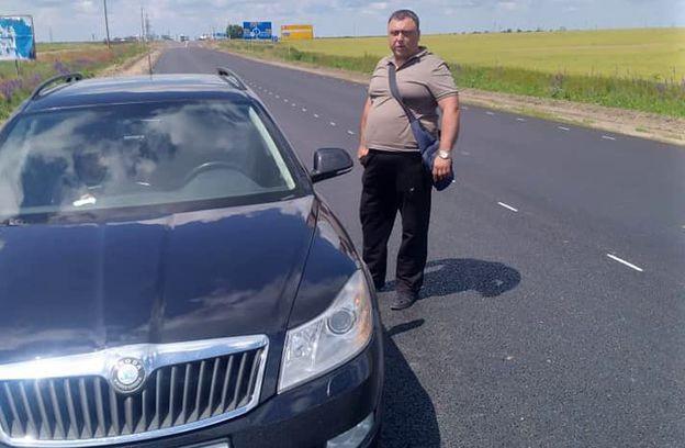 На Херсонщине полицейский обстрелял людей из-за конфликта на дороге. Фото 18+