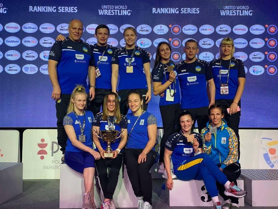 Херсонские спортсменки завоевали золото и серебро на Poland Open-2021