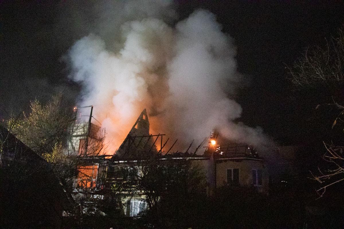 На Херсонщине сгорел дом: хозяин забыл еду на плите